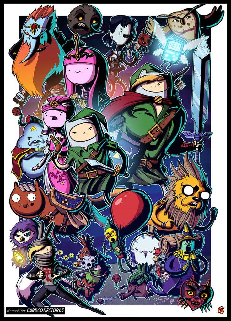 Adventure Time's Link - MTG - Sleeves