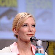 Cate Blanchett at event of The Hobbit: The Battle of the Five Armies (2014)