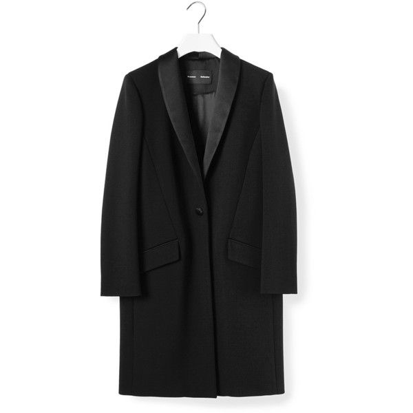 PROENZA SCHOULER Tuexedo Coat found on Polyvore