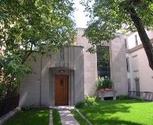 Once, Pierre Elliott Trudeau's house in Montréal, designed by Ernest Cormier in the early 1930s.