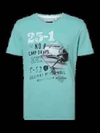 T-Shirt mit Logo-Print | FASHION ID Online Shop