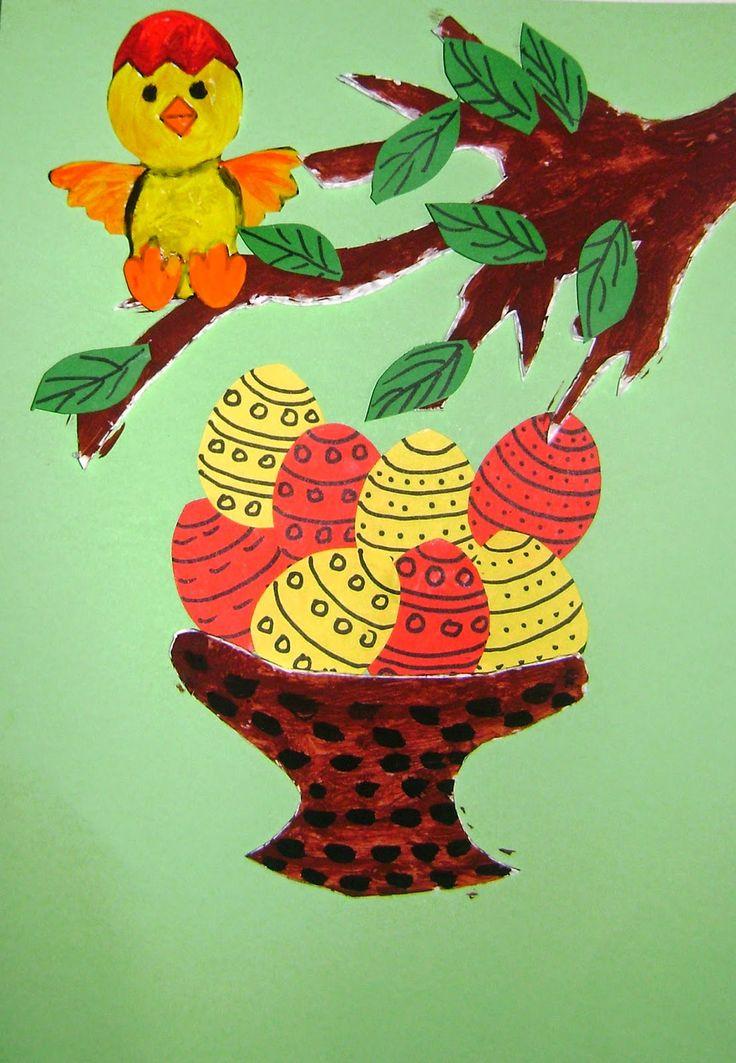 Lumea lui Scolarel...: Ornamente pentru Paște