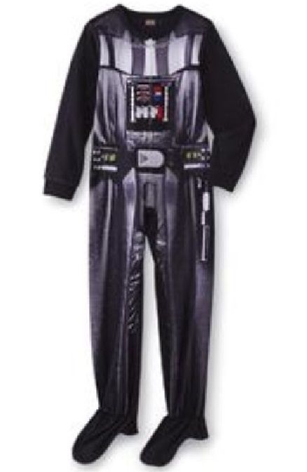 2f96125f3 Details about Star Wars Darth Vader COSTUME Fleece Pajamas Boy s 6 ...