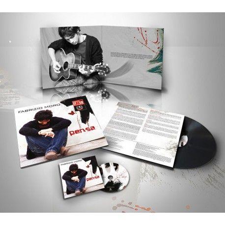 """Per celebrare il decennale dell'album """"Pensa"""" del cantautore Fabrizio Moro, per la prima volta viene stampata un'edizione speciale in vinile"""