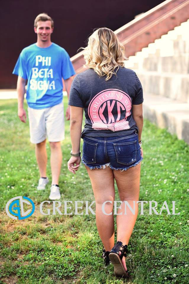 Recruitment Week customized sorority and fraternity shirts! Ask us how to start your order today! aubrey@greekcentral.com | www.greekcentral.com | #GreekCentral | Custom Greek Apparel | Fraternity | Sorority| Greek Life |