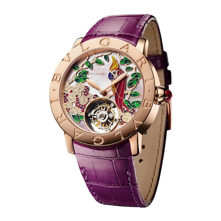 Bulgari  ~  Giardino Tropicale Watch