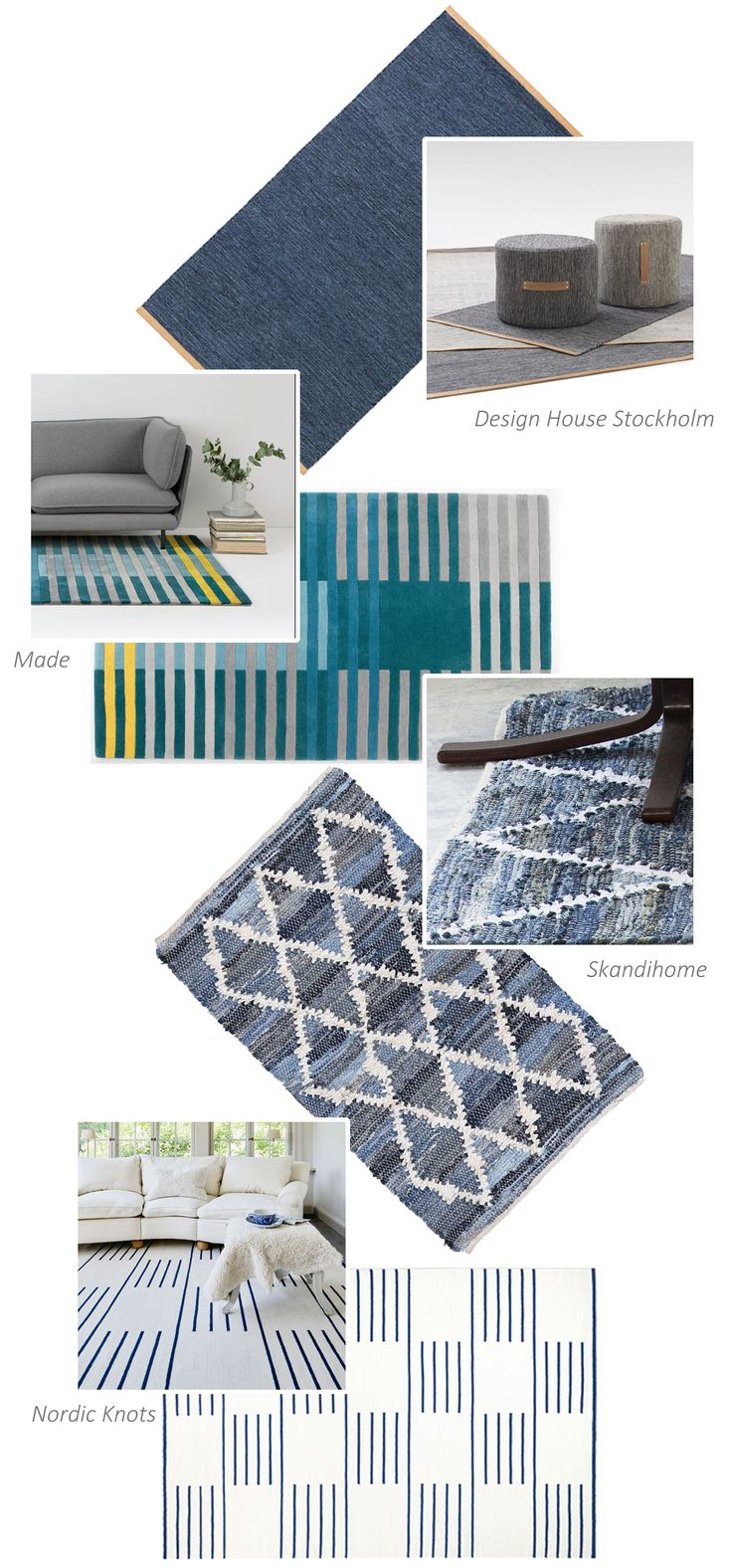 May rug edit from Skandihome - Scandinavian living and home inspiration and lifestyle blog