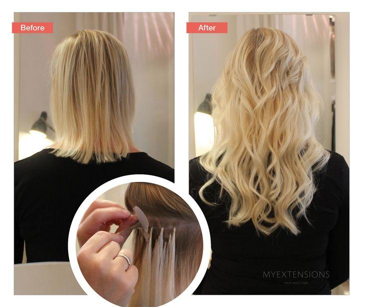 anoncelight af et hår