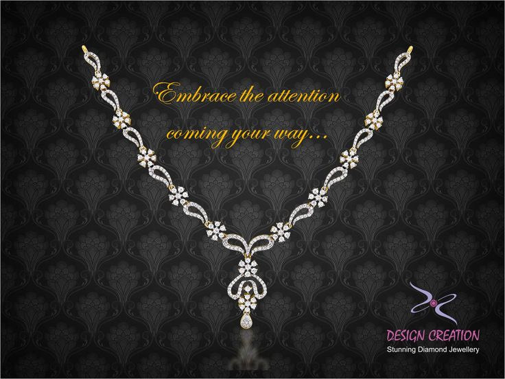 Entice everyone around you with this elegant neck-piece and bask in all the attention.