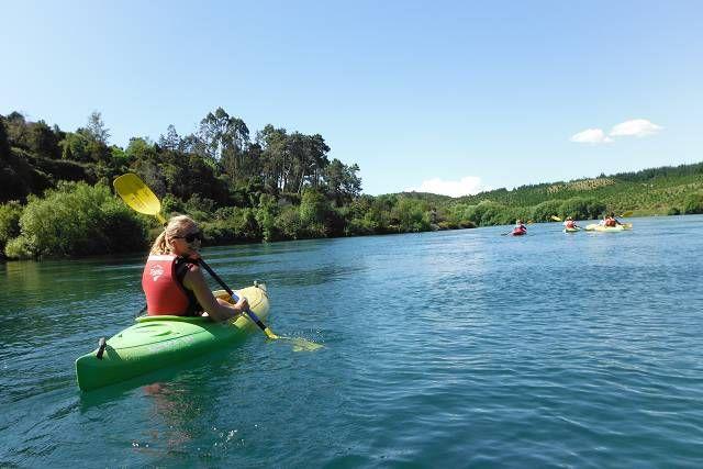 #canoeandkayak #Taupo #river #hotstream #sun