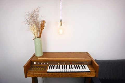 handcrafted edison lamp and vintage piano  #edisonbulb #design #lighting #edisonlamp #vintage #scandinavian #interior #design #home #decoration