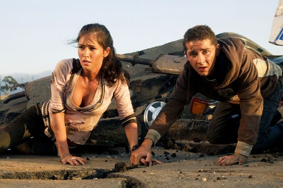 2004 Transformers   Shia LaBeouf & Megan Fox.