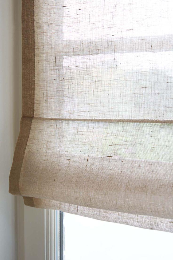 Les 25 meilleures id es concernant rideaux romains sur for Store tissus fenetre