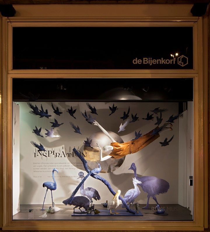 De Bijenkorf x Rijksmuseum windows by StudioXAG Netherlands