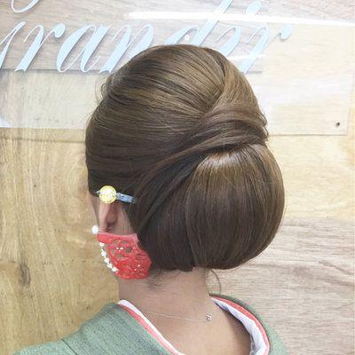 お呼ばれ結婚式に♡和装に合わせたいヘアスタイルまとめ nokura mai