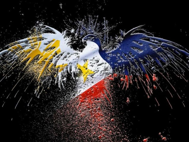 Filipino Pride Art Eagle