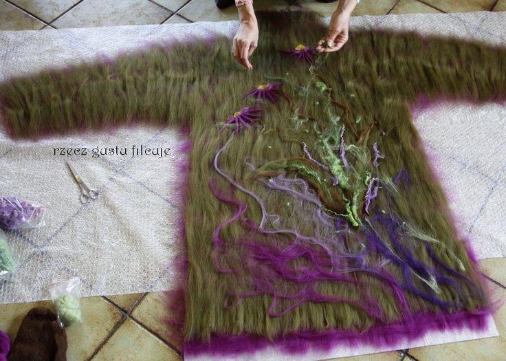wet felting lesson nuno felt nuno felted boa scarf tutorial felting ...