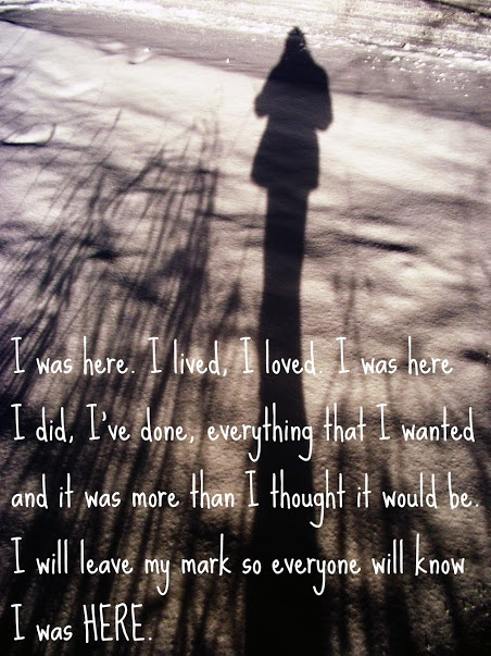 I was here by Beyonce. Love this song really inspirational