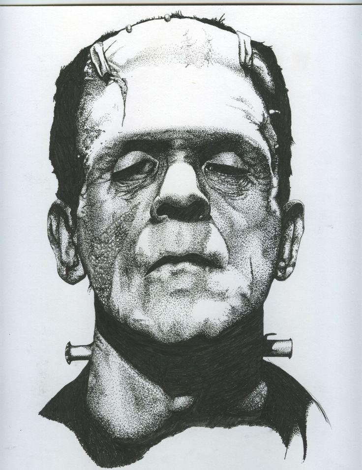Boris Karloff as Frankenstein's Monster.