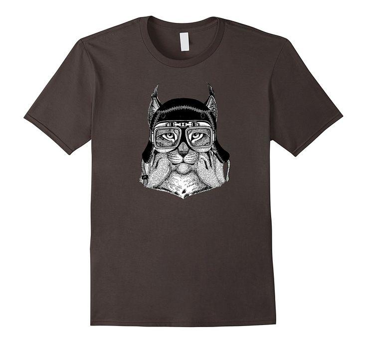 Lynx Biker T-Shirt