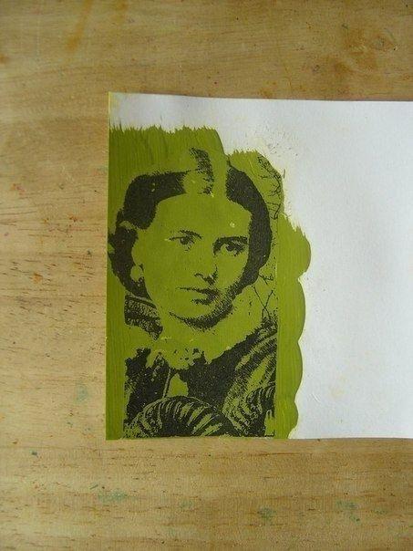 Как перенести изображение с помощью акриловой краски - Сам себе волшебник