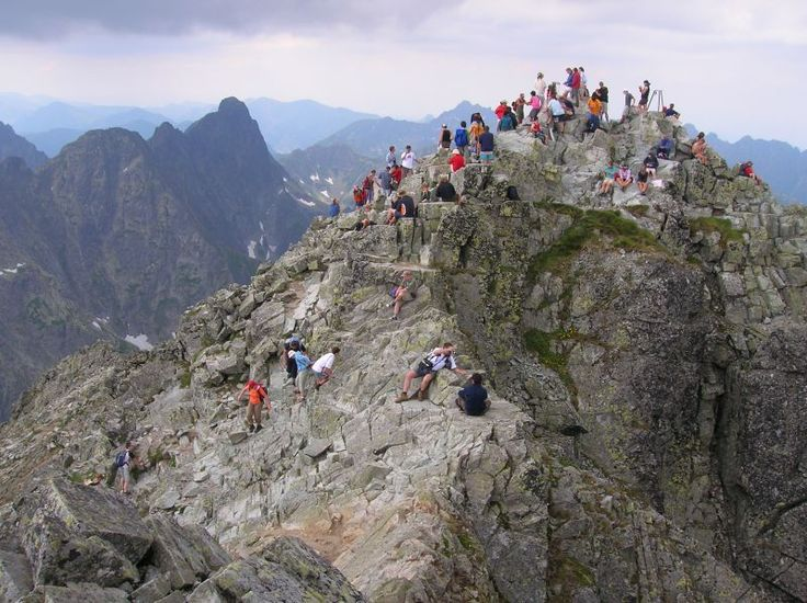 Rysy Peak in Tatras
