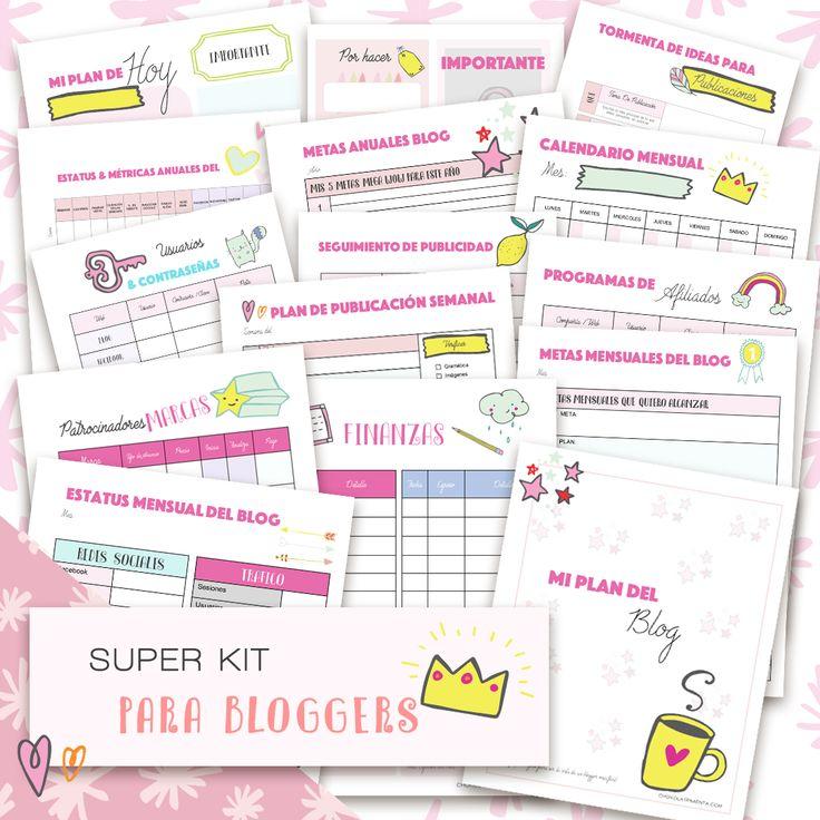 Super Kit para bloggers