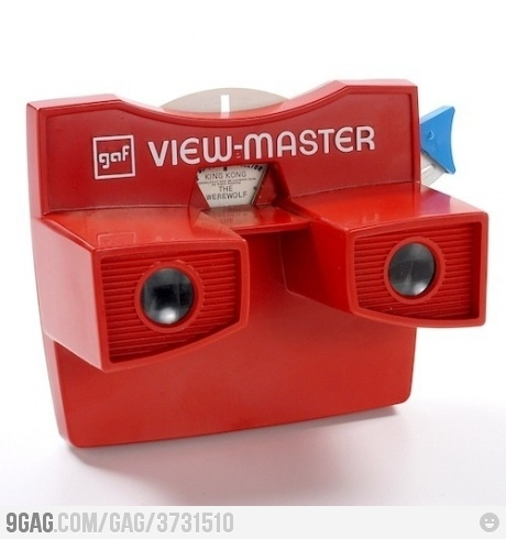 Google Glasses for Hipsters || I used to have this .. 20 years ago. Awesome childhood or being old? : -loved this- j