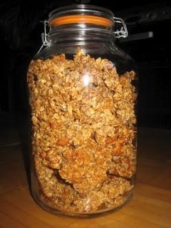 Nigella Lawson's recipe for granola