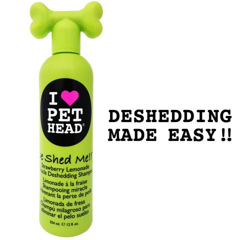 Is your pet a shedder? This super amazing formula drastically reduces shedding by laying down the hair neatly and removing excess hair, leaving the coat smooth and silky! Avoid eyes and ears. Bathe your pet twice a week for maximum results!! Use DeShed Me!! Miracle Rinse immediately after shampooing. Bath time has become a miracle making experience!! Strawberry Lemonade (354 ml / 12 fl oz)