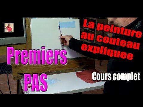 Au fonds des mers-Peinture au couteau - Cours complet- Pascal Clus - YouTube