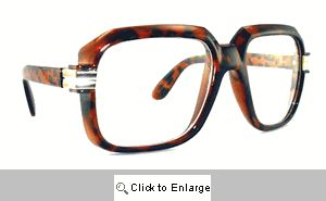 Telly Big Square Clear Lens Glasses - 302 Tortoise