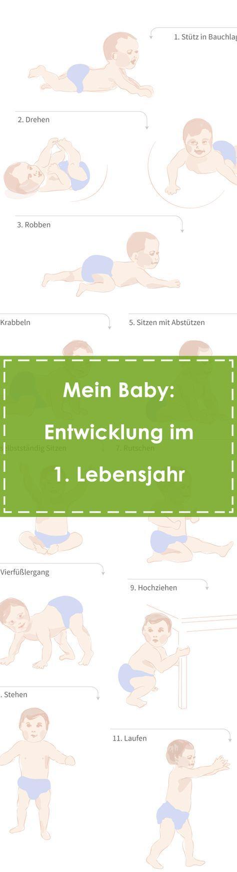 Baby: Entwicklung im 1. Jahr!