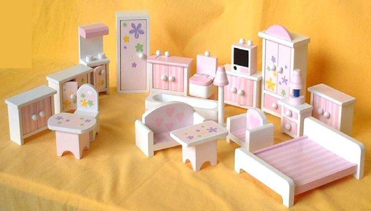 Download Wood Dollhouse Furniture Plans PDF Doll