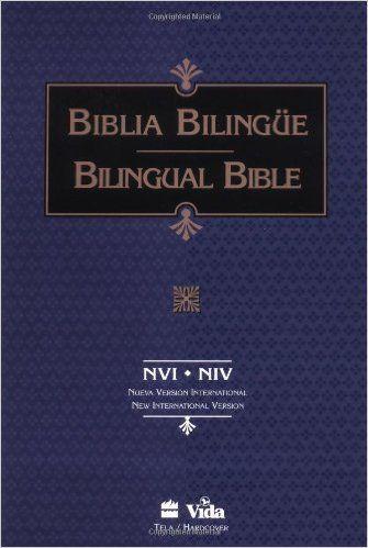 Santa Biblia/Holy Bible, NVI/NIV, Nueva Version Internacional/New International Version (Spanish and English Edition): Zondervan: 9780829724028: Amazon.com: Books