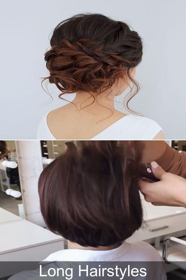 Everyday Hairstyles Updo Hairstyles For Short Hair Pics Of Long Hairstyles In 2020 Long Hair Styles Hair Styles Everyday Hairstyles