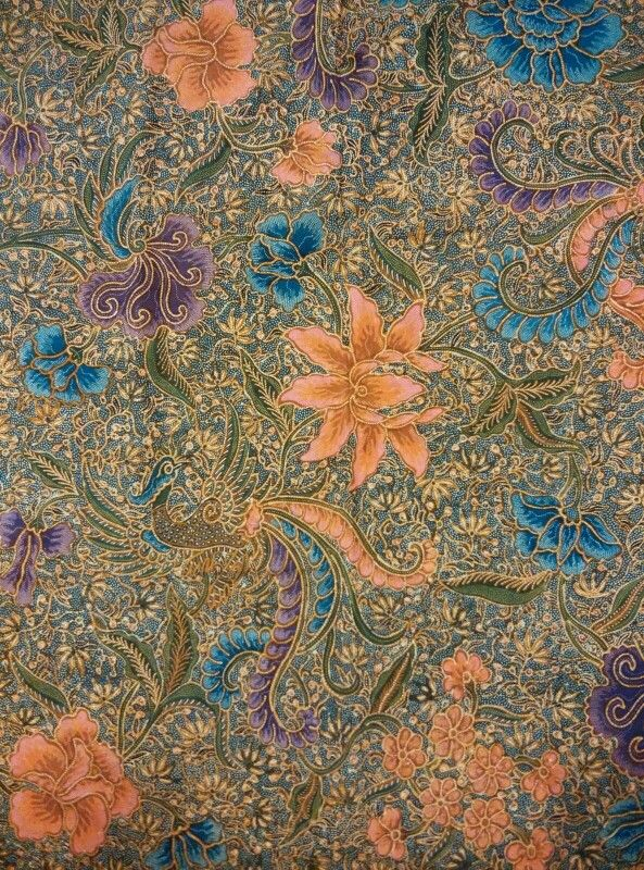 Batik encim origin pekalongan year 1950 full hand work beautiful.