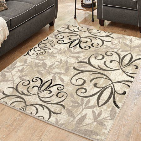 Better Homes And Gardens Iron Fleur Area Rug Or Runner Beige