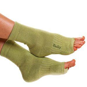 Laurel Green Pedicure socks