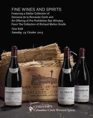 Fine Wine and Spirits Featuring a Stellar Collection of Domaine de la Romanee-Conti and an Offering of Pre-Prohibition Rye Whiskey from the Collection of Richard Mellon Scaife | Fine Art Auction | Search Results | Christie's
