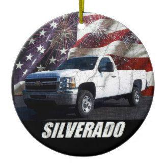 2013 Silverado 2500HD Regular Cab W/T 4x4 Ceramic Ornament