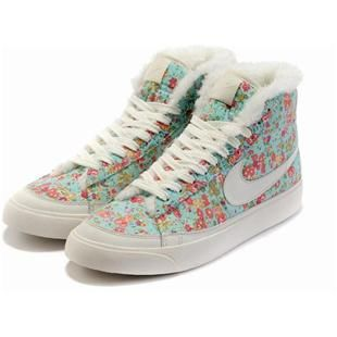 Women Nike Blazer High Top Flowers Trainers Blue White, cheap Women Nike  Blazer High Top, If you want to look Women Nike Blazer High Top Flowers  Trainers ...