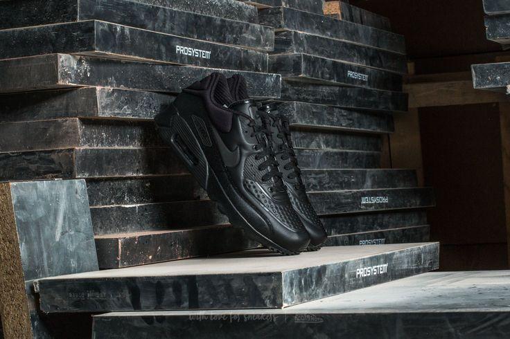 Nike Air Max 90 Ultra SE Premium Black/ Metallic Hematite-Black -