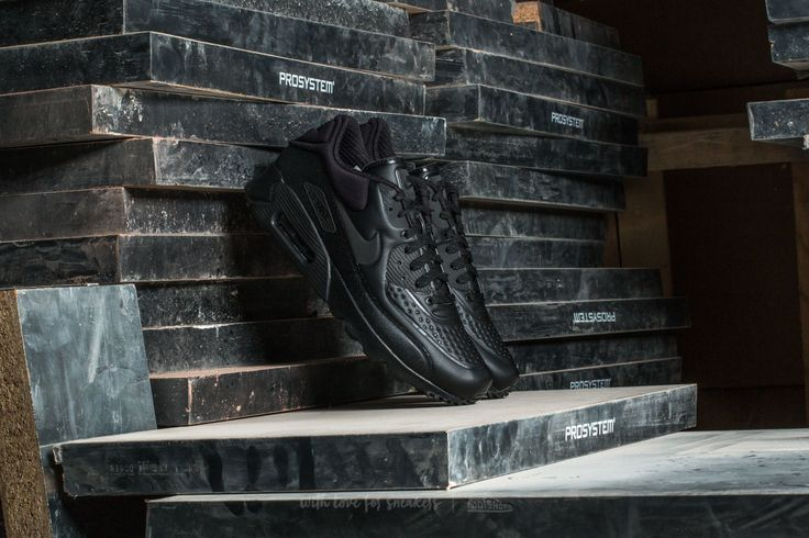 Nike Air Max 90 Ultra SE Premium Black/ Metallic Hematite-Black -