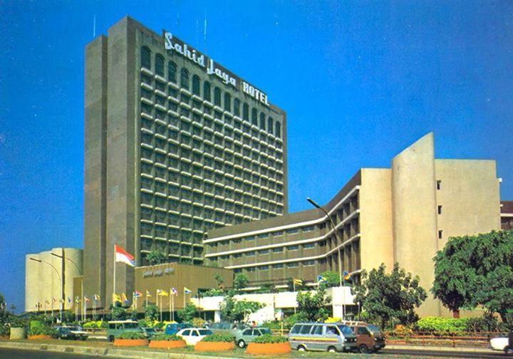 Hotel Sahid diawal tahun 1980