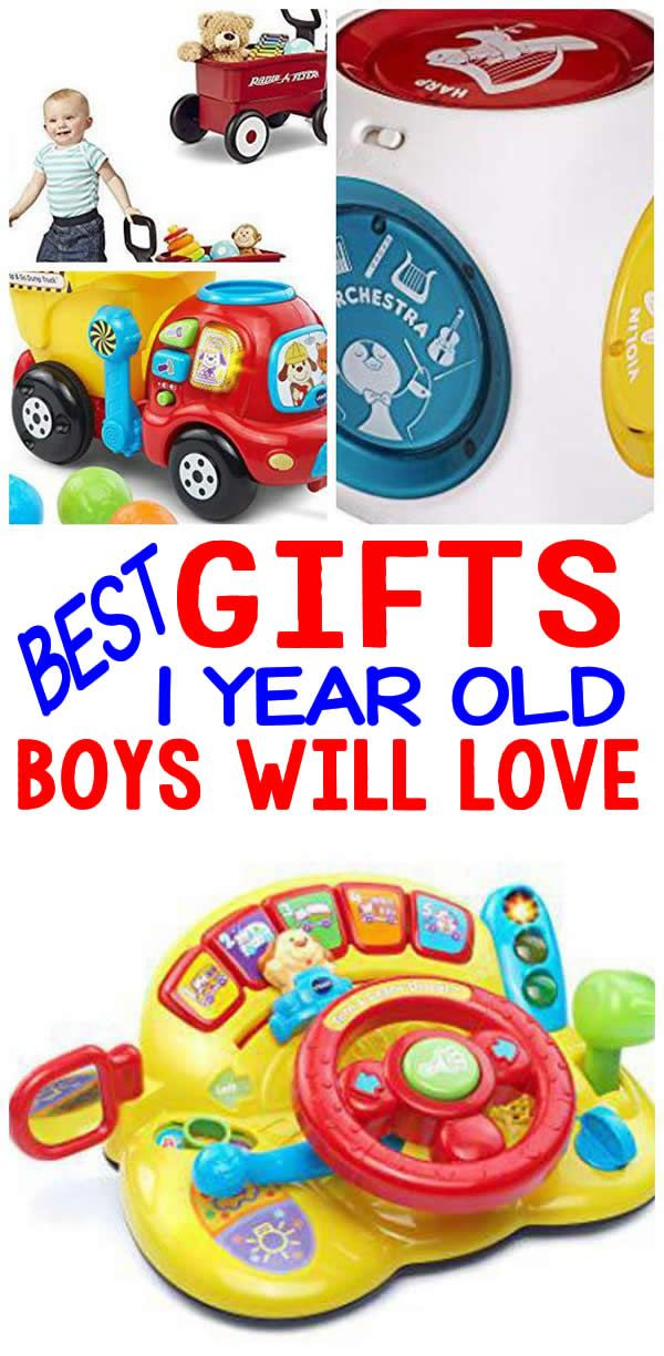 Top Gifts For 1 Year Olds Here Are The Best That Special Boys 1st Birthday Or His Christmas Present One Old Will Love Any Of