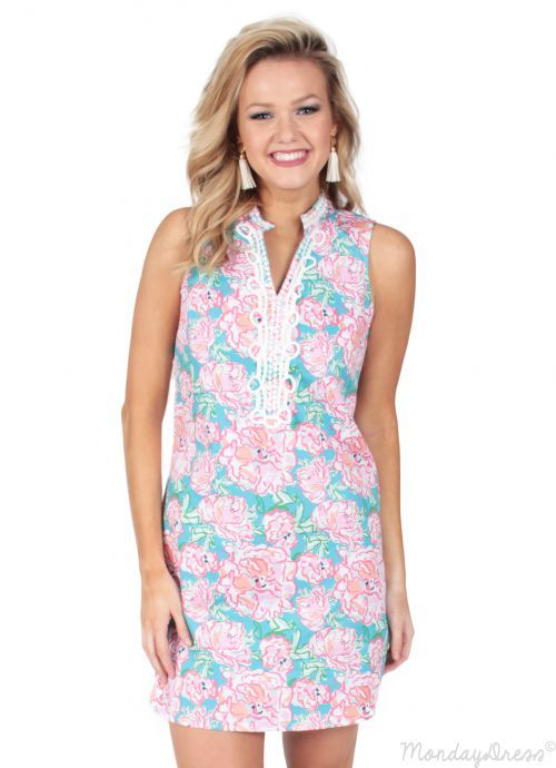 Southern Nights Dress in Pink | Monday Dress Boutique