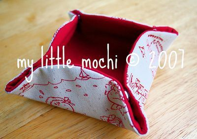 My Little Mochi - Fabric Box | Sew What? FREE SEWING PATTERNS AND ...