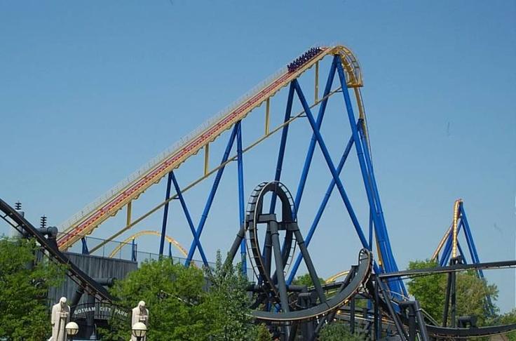 #nitro #sixflags #rollercoasters