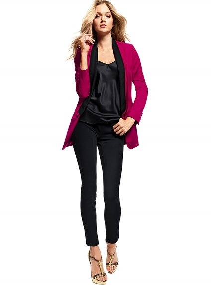 Pink Jacket! Save 30 bucks from Victoria's Secret with this coupon code: http://cpn.cd/watC38